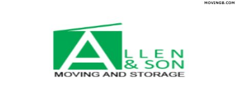 Allen and son Moving - Baltimore Movers