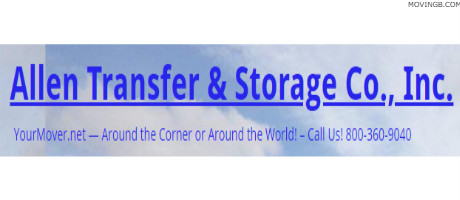 Allen transfer and storage - Movers In Lumberton