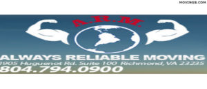 Always Reliable Moving - Virginia Movers