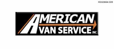 American van service - Washington Movers