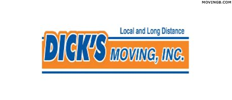 Dicks Moving FL Homosassa Florida Movers