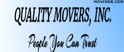 Quality movers - Moving services