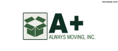 A Plus always moving - Portland Movers