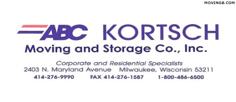ABC Kortsch Moving - Wisconsin Movers