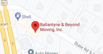 Address of Ballantyne and beyond moving company Fort Mill SC