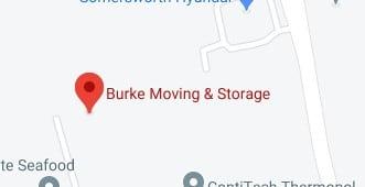 Address of Burke moving company NH