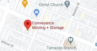 Address of Conveyance moving company Austin TX