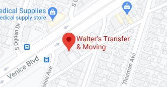 Address of Garidelles moving and walters transfer Los Angeles CA