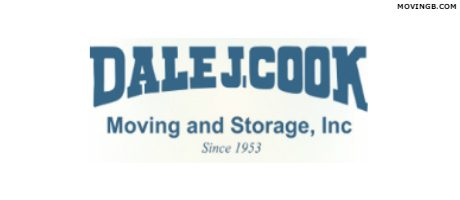 Dale J Cook moving services