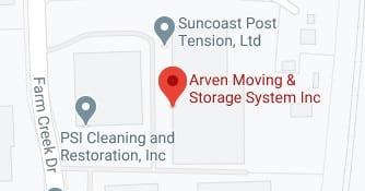 Address of Arven moving and storage company Woodbridge VA