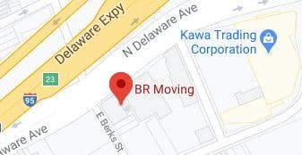 Address of BR moving company Philadelphia PA