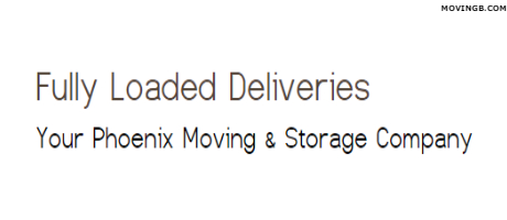 Fully loaded deliveries - Moving Services