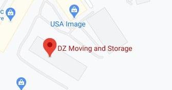 Address of DZ moving company Louisville KY