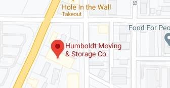 Address of Humboldt moving company Eureka CA