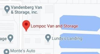 Address of Lompoc van and storage moving company Lompoc CA