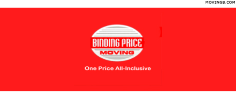 Binding price moving - New York Home Movers