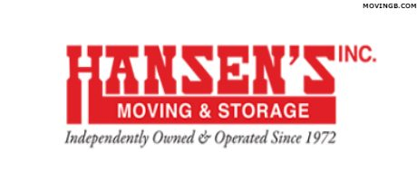 Hansens Moving - California Movers