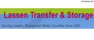 Lassen Transfer - California Movers