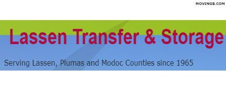 Lassen Transfer - California Movers