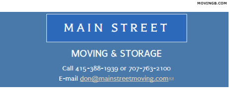 Main Street Moving - California Movers
