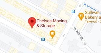 Address of Chelsea moving company NYC NY