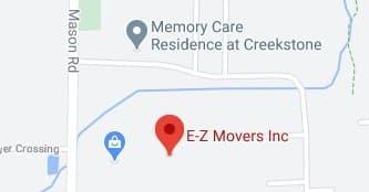 Address of EZ movers company Fairport NY
