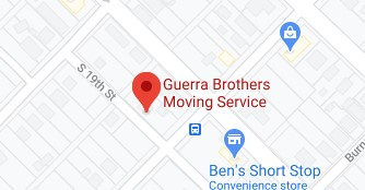 Address of Guerra brothers moving company Waco TX