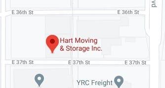 Address of Hart moving company Lubbock TX