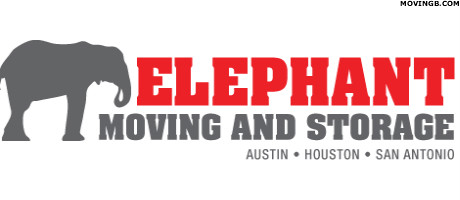 Elephant moving and storage - Movers in Austin