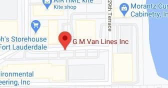 Address of GM van lines Lauderdale Lakes FL