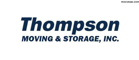 Thompson moving and storage - Movers in Orland park il