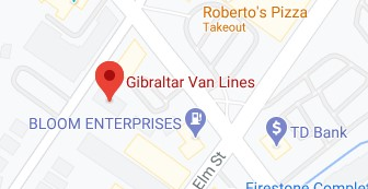 Address of Gibraltar van lines moving company Montclair NJ
