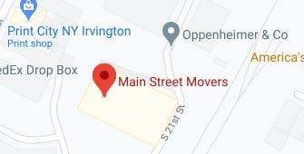 Address of Main street movers company Irvington IL