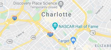 Charlotte city map