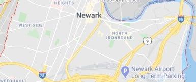 City map of Neware, NJ