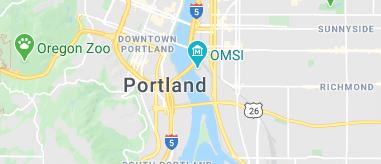 Portland map and city list
