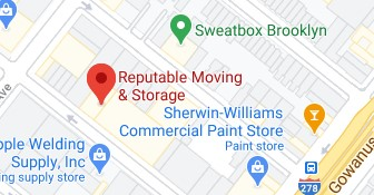 Address of Reputable moving company Brooklyn NY