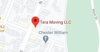 Address of Tera moving company NJ