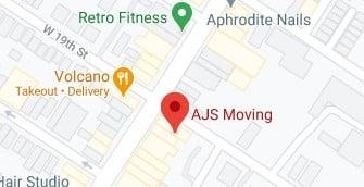 Address of AJS Moving company NJ