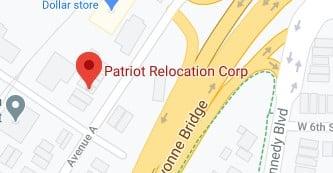 Address of Patriot relocation company NJ