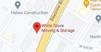 Address of White Glove moving company NJ