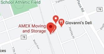 Address of AMEX Moving company NJ