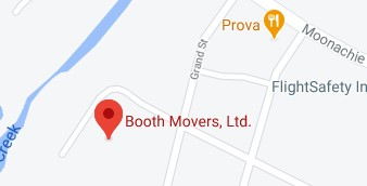 Address of Booth Movers company NJ