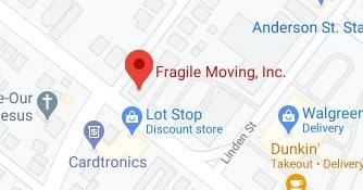 Address of Fragile moving Hackensack NJ