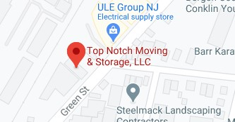 Address of Top Notch moving and storage NJ